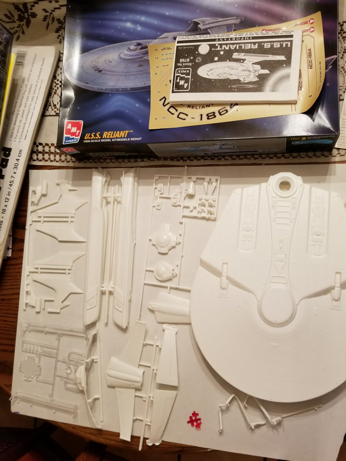 Dispatches from the World of ADHD: Model Building, The Chubby Kid, and the U.S.S.Reliant.